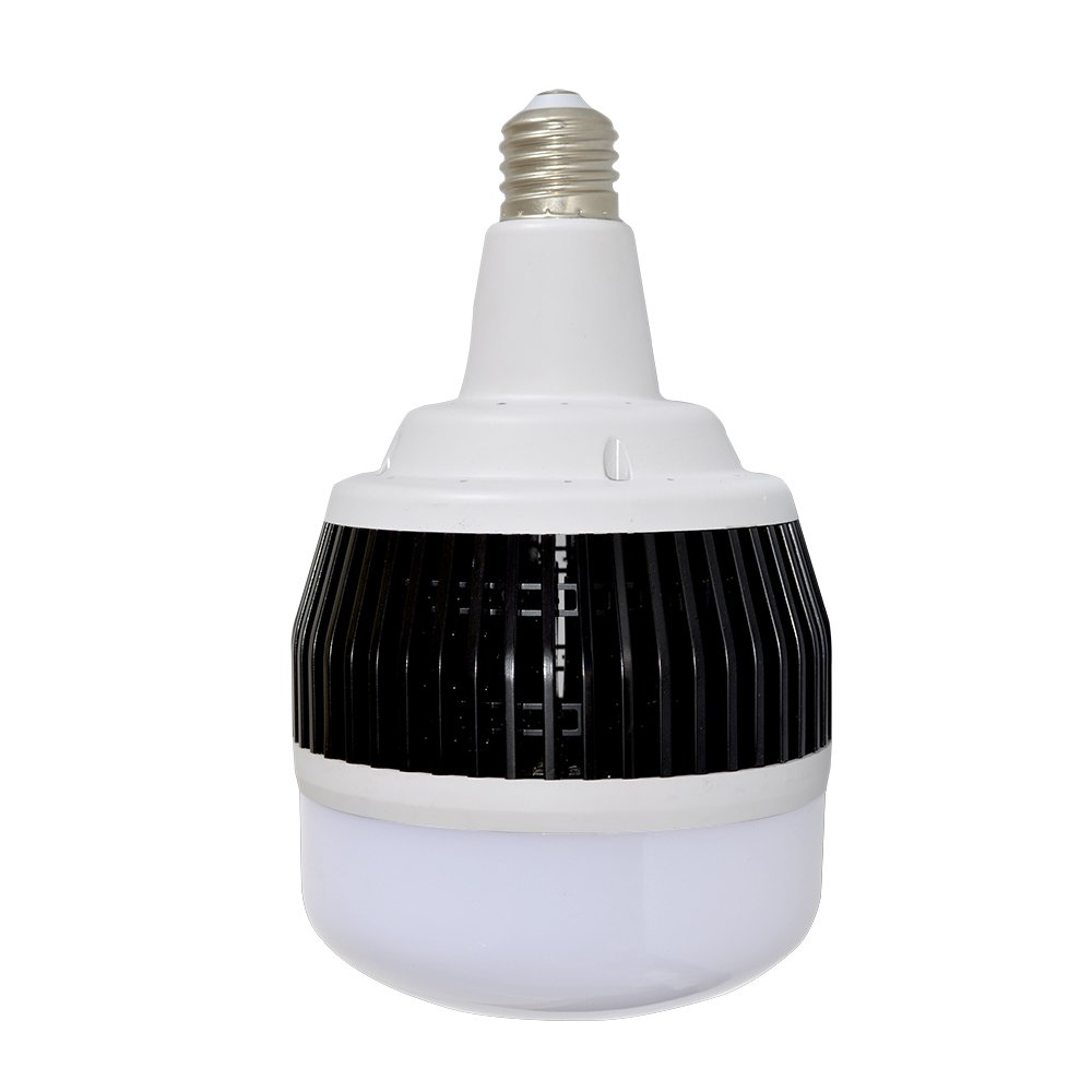 LUMENEV 100W E39 LED High Bay Light Bulb 5000K Daylight 13500 lumens Non-Dimmable CRI 80 E39 LED Bulb for Church Garage Warehouse Barn Patio Supermarket Restaurant Logistic Center