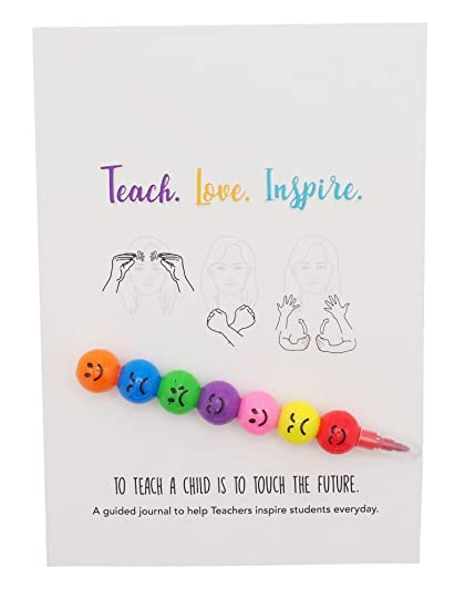Amazon.com : Teacher Journal, Undated Daily Planner with ...