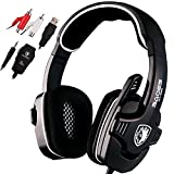 Sades SA922 Surround Sound Gaming Headset Stereo Headphones with Microphone for XBOX 360 / PS3 / PS4 / PC / Computer (Black) Review