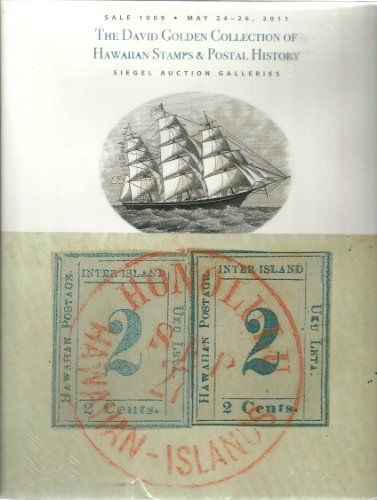 The David Golden Collection of Hawaiian Stamps & Postal History