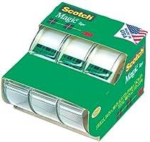 Scotch Magic Tape, 19mm x 8.9m (Per Roll), 3 Rolls, (3105-L-CDN)
