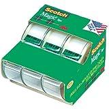 Scotch Magic Tape 3105, 3/4 x 300 Inches, Pack of 3