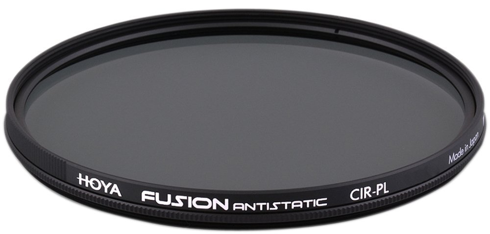 Hoya 62mm FUSION Antistatic Super Multi Coating Super Slim Frame Circular Polarizing Filter by Hoya