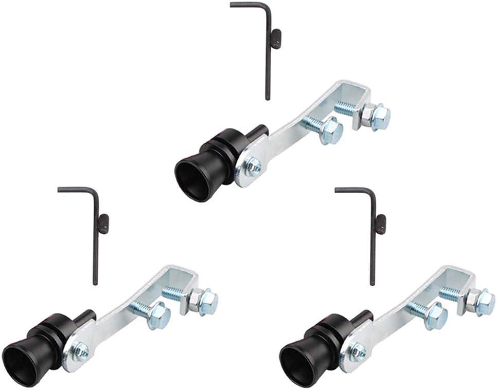 Loriver 3 pcs Sifflet De Turbine De Voiture pour Les Voitures Et Les Motos Tuyaux D/échappement Turbo Moteur
