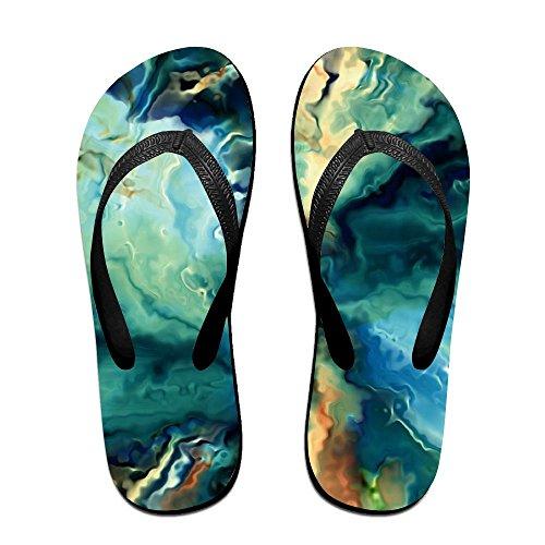 Men PTJHKET Colorful World Flops Kids Flip for Slippers Women vzvB0