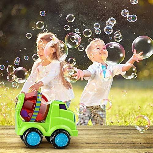 ACHICOO 泡メーカー 楽しみ 車の形 自動泡機械 泡水のない 子供