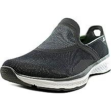 Skechers Refresh Men Round Toe Canvas Gray Walking Shoe