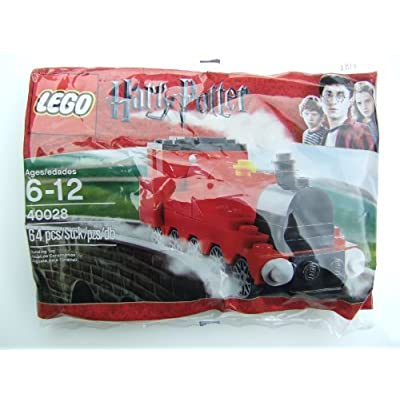 LEGO 40028 Harry Potter Mini Hogwarts Express Lego Harry Potter mini Hogwart's Express: Toys & Games