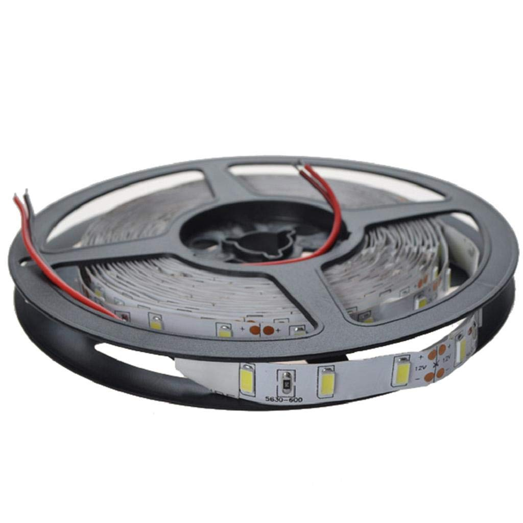 Negro luz de tira flexible c/álido blanco fresco QUICKLYLY Tiras LED TV Luz RGB Light Iluminaci/ón Flexible,12V 5M SMD 3528 300LED no impermeable