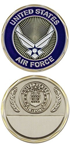 U.S. Air Force Hap Arnold Wings Challenge Coin (Wing Challenge Coin)