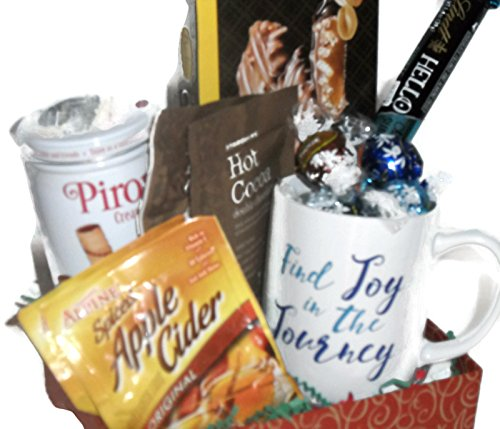 Find Joy In The Journey Coffee Mug Gift Set Filled With Chocolate And Goodies For A Special Friend On Valentines Day