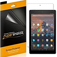 (3 Pack) Supershieldz for All New Fire HD 10 Tablet 10.1 inch (9th and 7th Generation, 2019 and 2017 Release) Screen Protector, High Definition Clear Shield (PET)