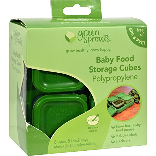 Green Sprouts Food Storage Cubes