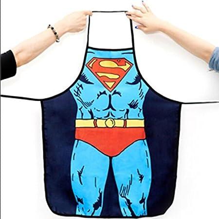 Sexy Novelty Funny Naked Superman Wonder Woman Batman Hombres Spun ...