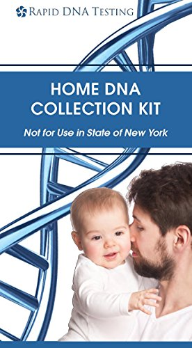 Rapid DNA Paternity Test Kit - DNA Testing Lab Fee & Shipping To The Lab Included - At Home Testing - Confidential Results