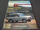 range rover 1980 - Pickup Van and 4WD Jun 1980 Range Rover, Bronco Six