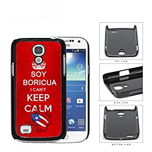 Soy Boricua I Can't Keep Calm Hard Plastic Snap On Cell Phone Case Samsung Galaxy S4 SIV Mini I9190 by runtopwell