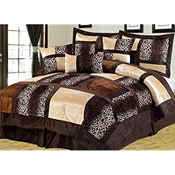 10 Piece Queen Dawson Black And Red Comforter Set Home Kitchen