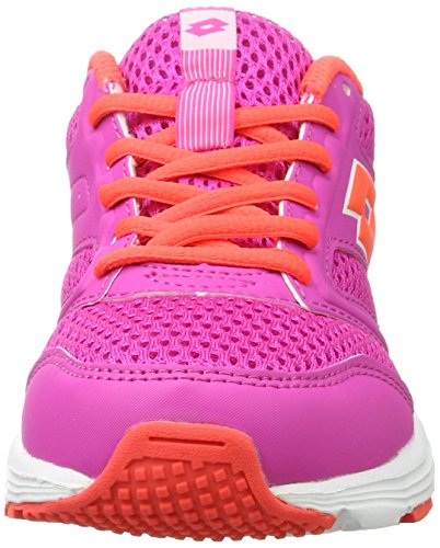 Lotto Women's Speedride 500 W Running Shoes, Pink (PNK Mag/Red FL), 7 UK