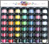 ART GLITTER TRANSPARENT BOX O' COLOR 42