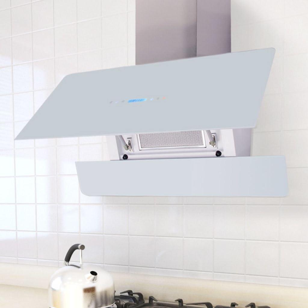 SHENGFENG Campana extractora con pantalla Touch Blanca 900 mm.Questa Cappa ultra-silenziosa y potente aspirera effettivamente I Gas Ed El Humo, I grasas y la UMIDITA: Amazon.es: Grandes electrodomésticos