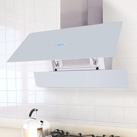 Furnituredeals campanas extractoras cocina Campana extractora con pantalla t¨¢ctil Blanca 900 mm campana extractora inoxidable: Amazon.es: Hogar