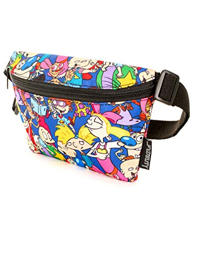 FYDELITY Fanny Pack Belt Bag Ultra Slim NICK Nickelodeon 90's SpongeBob Square from Fydelity