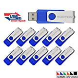 KOOTION 10PCS 16GB USB 3.0 Flash Drives USB Drive Memory Stick Thumb Drives Pen Drive, Blue