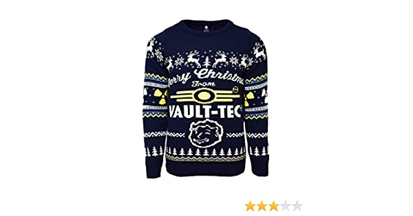 Vault Tec Christmas Sweater.Official Fallout 4 Vault Tec Christmas Jumper Ugly Sweater