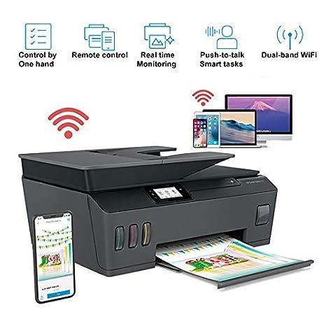 TANCEQI Impresora Multifunción de Tinta (Impresión/Copia/Escáner ...