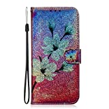 NEXCURIO Wallet Case for Huawei Y6 2019/Honor 8A/Y6 Pro 2019 with Card Holder Side Pocket Kickstand, Shockproof Leather Flip Cover Case for Huawei Y6 2019 - NETXI150606 N6