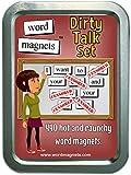 Word Magnets Dirty Talk Set - Magnetic Words - Fridge Poetry Kit
