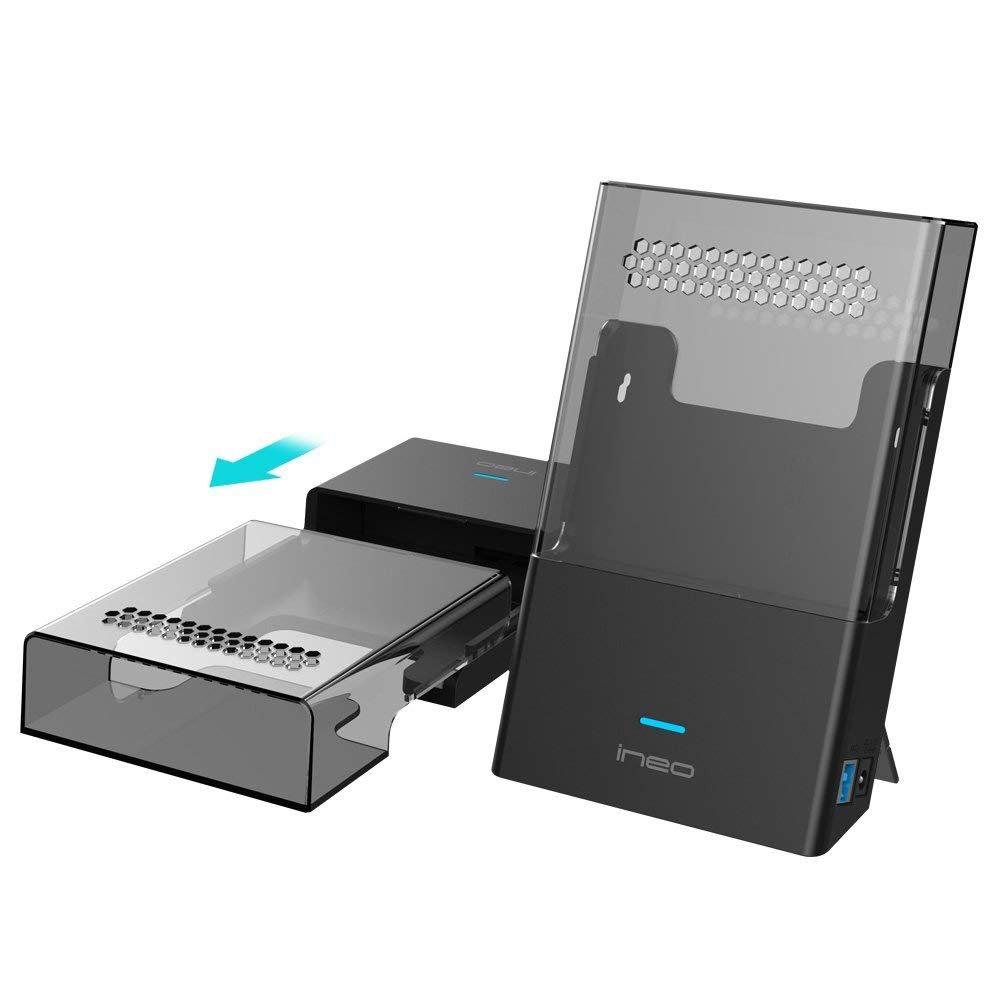 ineo T3546 - Carcasa externa para disco duro SATA HDD de 3,5 ...