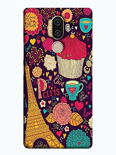 various colors 30b46 f66f3 TREECASE Printed Back Cover For Lenovo K8 Plus