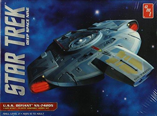 AMT 1: 420スタートレックDeep Space Nine S。S。ディファイアントU。S。S。ディファイアントプラスチックモデルキット# 845の商品画像