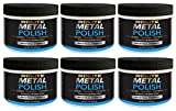 Rolite Metal Polish Paste (1lb) for Aluminum, Brass, Bronze, Chrome, Copper, Gold, Nickel and Stainless Steel 6 Pack