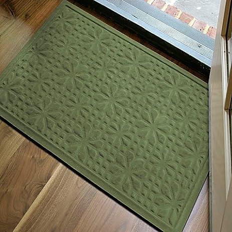 Microfibre® Low Profile 2 Foot X 3 Foot Door Mat (Green)