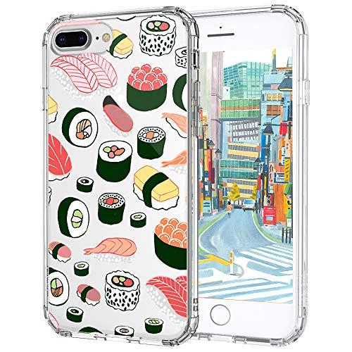 MOSNOVO Cover iPhone 7 Plus, Cover iPhone 7 Plus Trasparente con ...