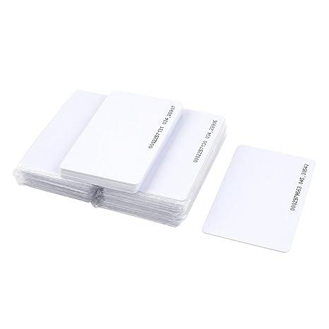 RFID Card - TOOGOO(R) 50 piezas EM4100 inteligentes por ...