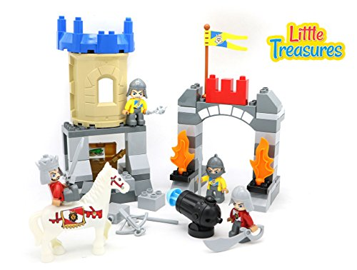 Little Treasures Castle Fortress Protecting the City, Lar...