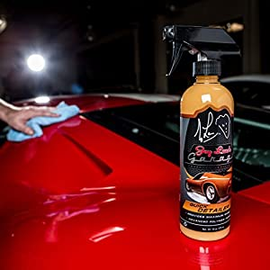 Jay Leno's Garage Quick Detailer - The Best Quick Detailer or Spray Wax Product for Your Car - 16oz