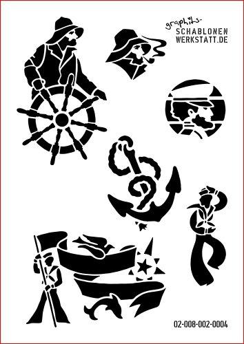 Sagoma Shabby Chic modulare creativo marittimo, 02-008-002-0004 ...