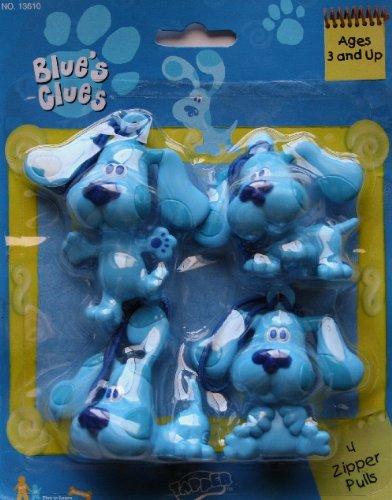Blue's Clues Zipper Pulls (4 Count)
