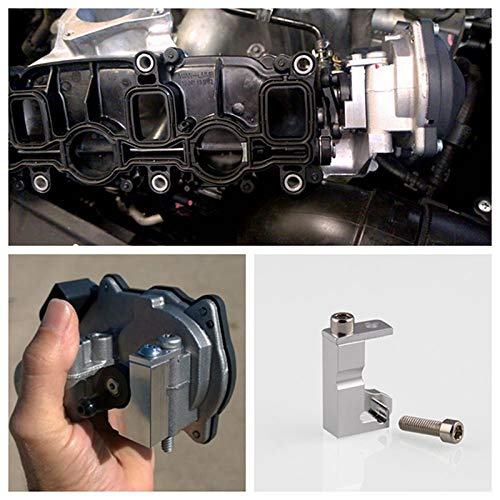 Lanceasy Inlet Manifold Intake Flap Motor P2015 Repair Bracket 03L129711E for Audi VW 2.0 TDI