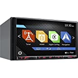 "Clarion Corporation of America NX807 2-Din DVD Multi Media Station with Built-in Navigation & 6.95"" Touch Panel Control"