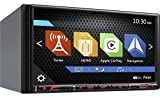 Clarion Corporation of America NX807 2-Din DVD Multi Media Station with Built-in Navigation & 6.95'' Touch Panel Control