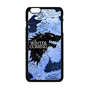 Creative Winter Coming Brand New And Custom Hard Case Cover Protector For Iphone 6 Plus