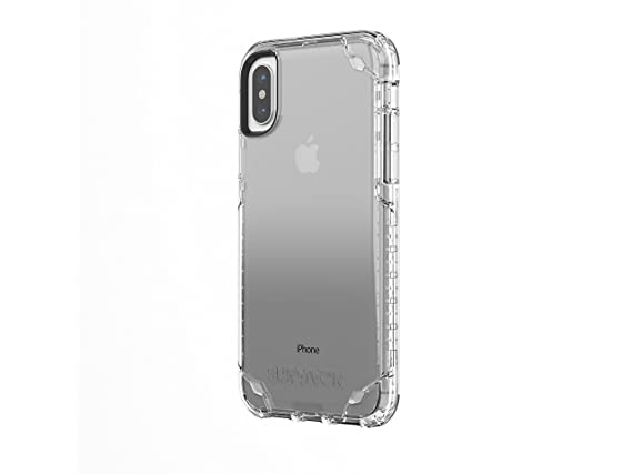 quality design 9d02c ee620 Griffin Survivor Strong iPhone X Case with Slim and Shock-Absorbing Design  - Clear
