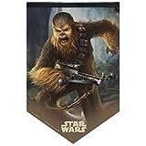 WinCraft Star Wars Chewbacca 17'' x 26'' Premium Felt Banner