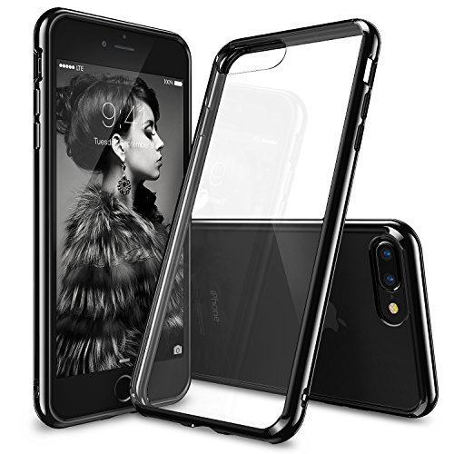 Ringke iPhone 7 Plus Case, [FUSION] Crystal Clear PC Back TPU Bumper...